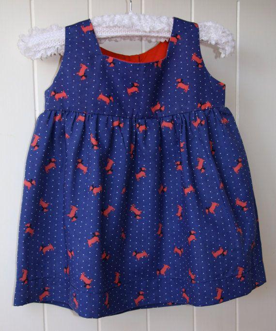 2cc8e1e9f901 Puppy power girls vintage scotty dog dress : size 3 | LITTLE ONE ...