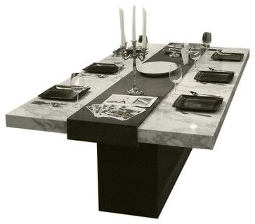 Contemporary Table Bases For Granite Top | Save To Ideabook Email Photo