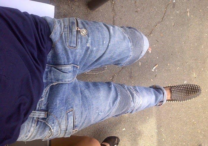 a3c2e33e Balmain Biker Jeans & Louboutin Studded Slippers - SPENTMYDOLLARS | Fashion  Trends, Shoes, Bags, Accessories for Men & Women