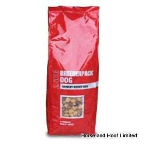 Breederpack Crunchy Biscuit Meal 15kg Breederpack Crunchy Biscuit Meal is a complementary compound food for dogs should be fed with an equal volume of canned or fresh meat.