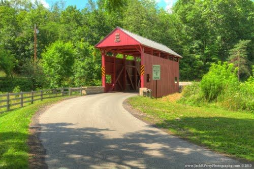 1875 Day Covered Bridge - PA.