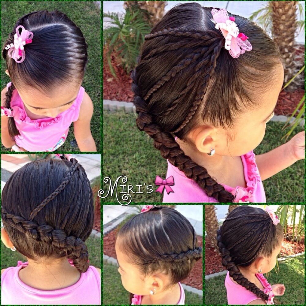 Hair style for little girls little girl hair pinterest hair