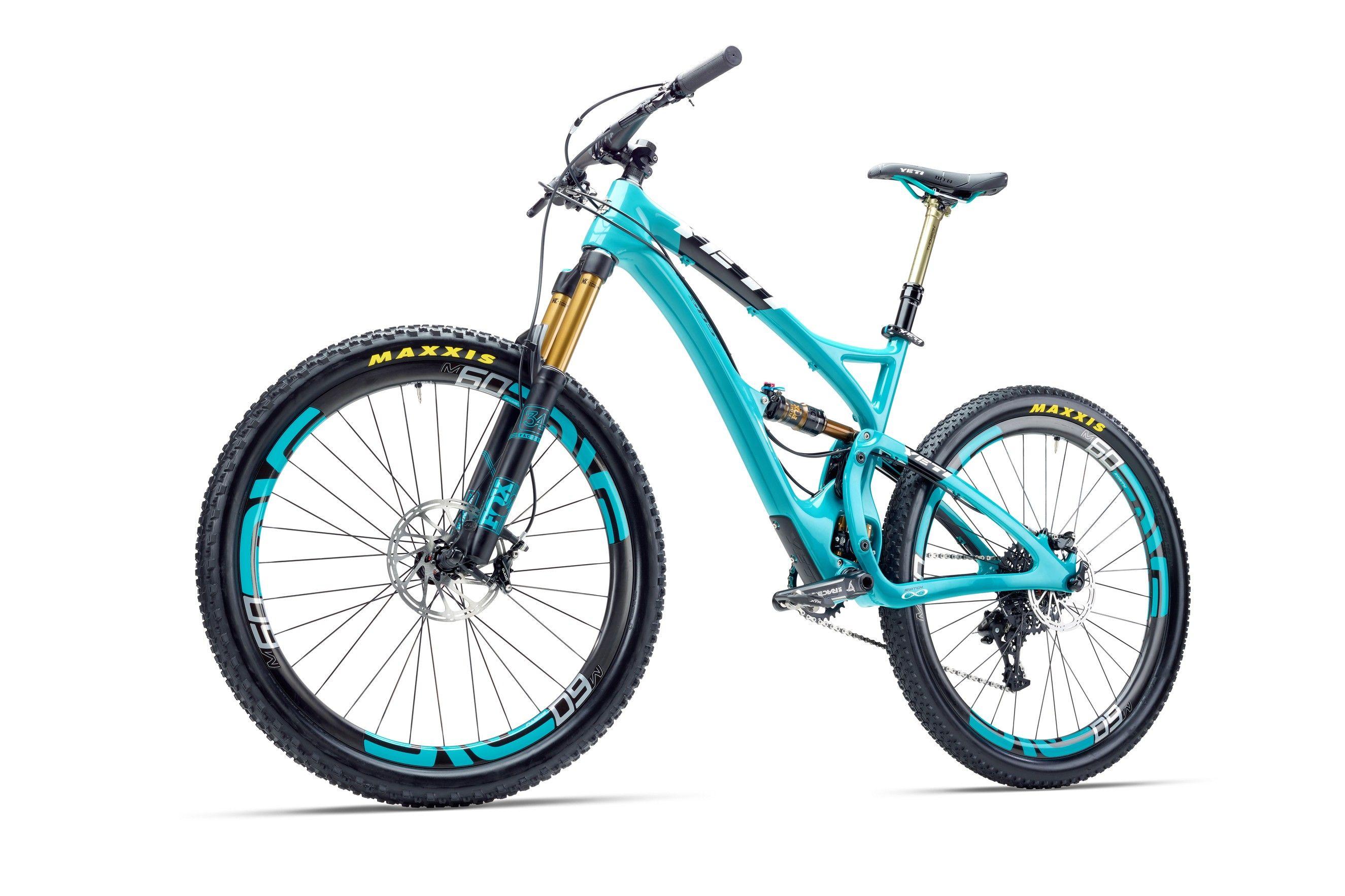 Yeti Sb5c Carbon Rahmenset Turquoise 2016 Www Rider Store De