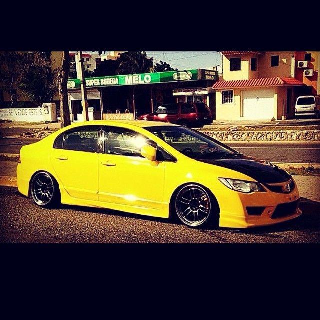 Honda Car Civic Fd Speed Sedan Vtec Low Jdm Race Fast
