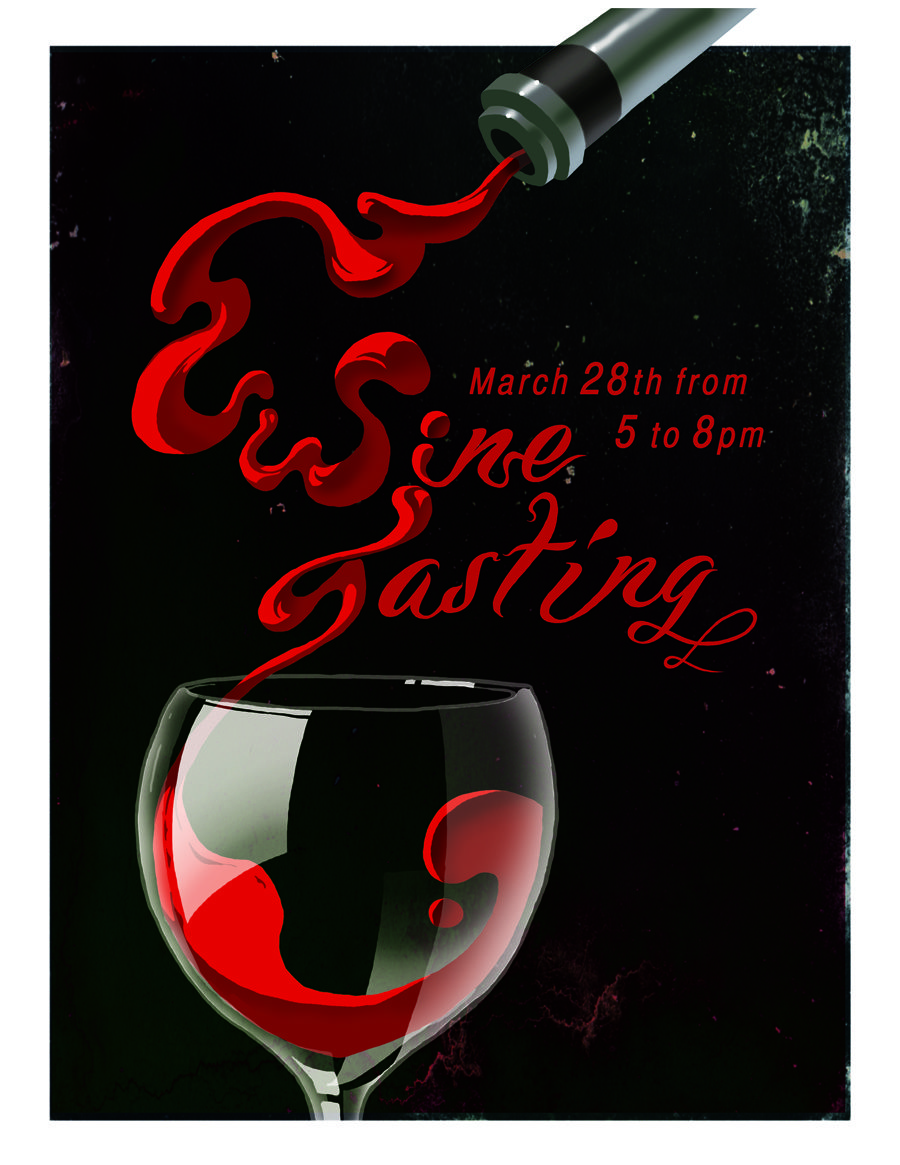 Wine Tasting Flyer 2013 Wine Event Poster Wine Event Wine Tasting Events