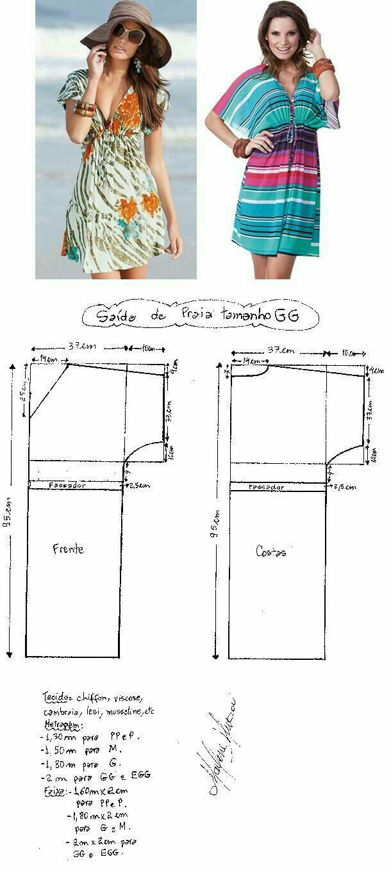 Pin de Laura Roman en Patrones | Pinterest | Costura, Patrones y Molde