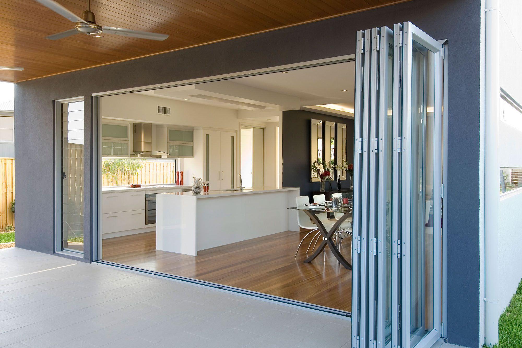 Boutique Aluminium Bifold Doors | Modern patio doors ...