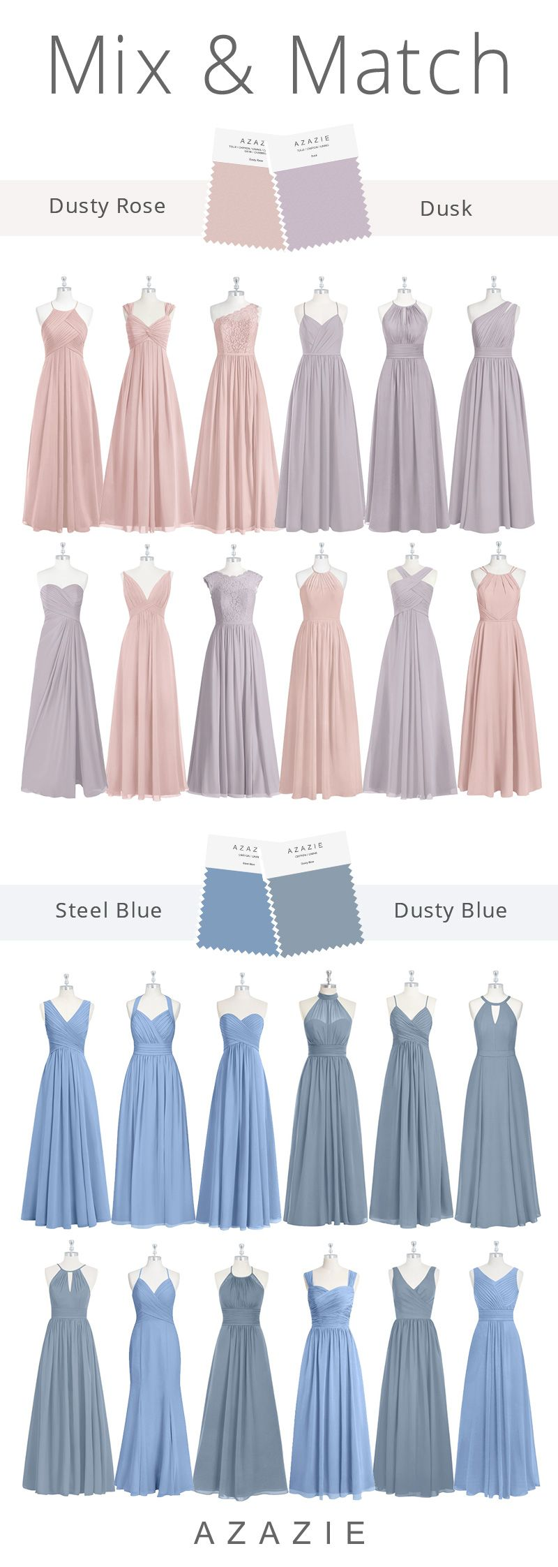 Photo of Wedding Color Mix and Match