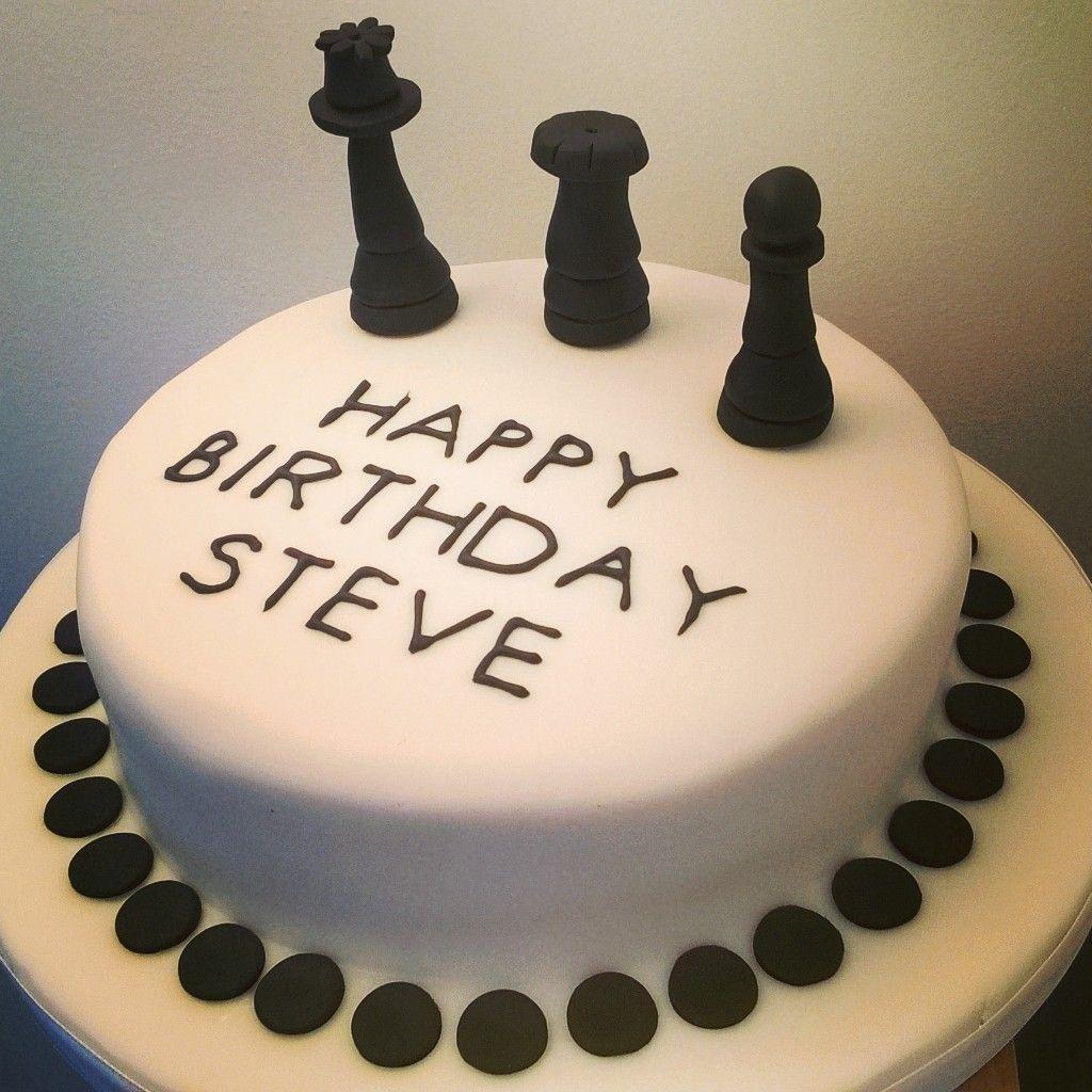 Chess Birthday Cake Top Notch Bakes Pinterest Cake Birthday