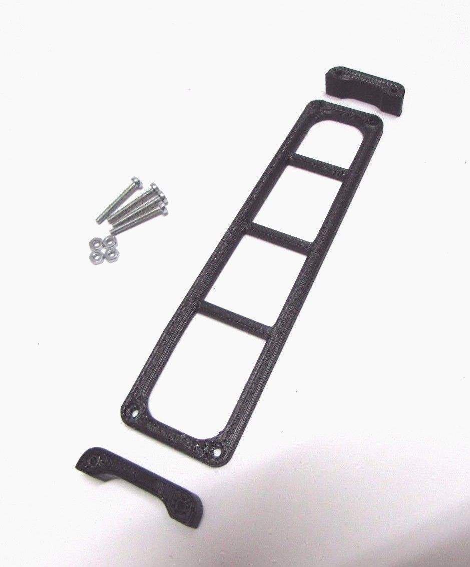 1 10 Scale Ladder For D90 Hard Body Rc Crawler Accessories Roof Rack Hard Body Rc Crawler