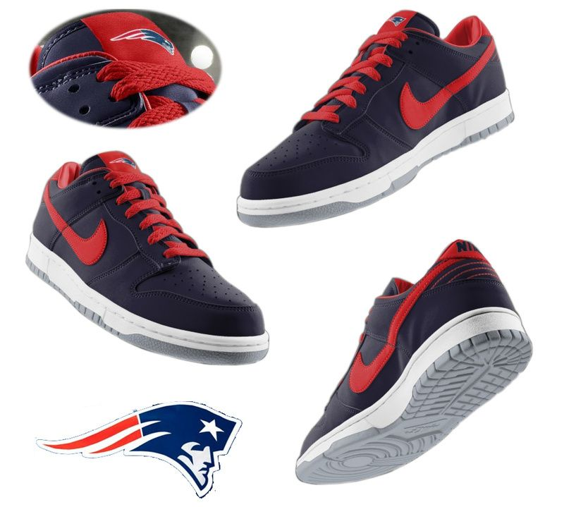 93c0b288d243 Nike New England Patriots Athletic Shoes