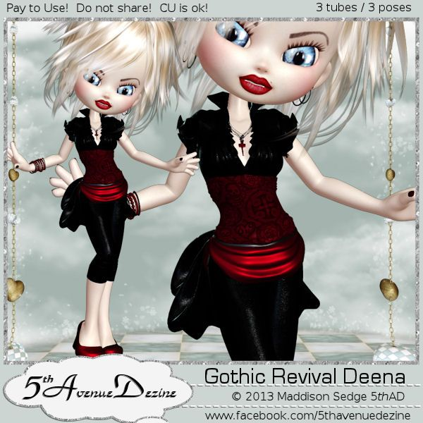 Cookie néogothique Deena