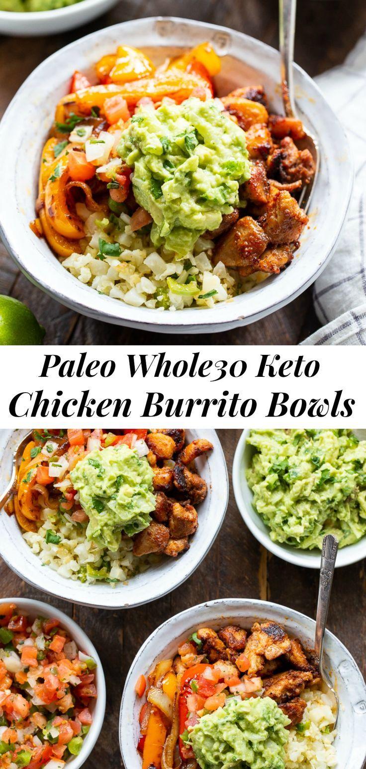 Paleo Chicken Burrito Bowls {Whole30, Keto} The Paleo Running Momma