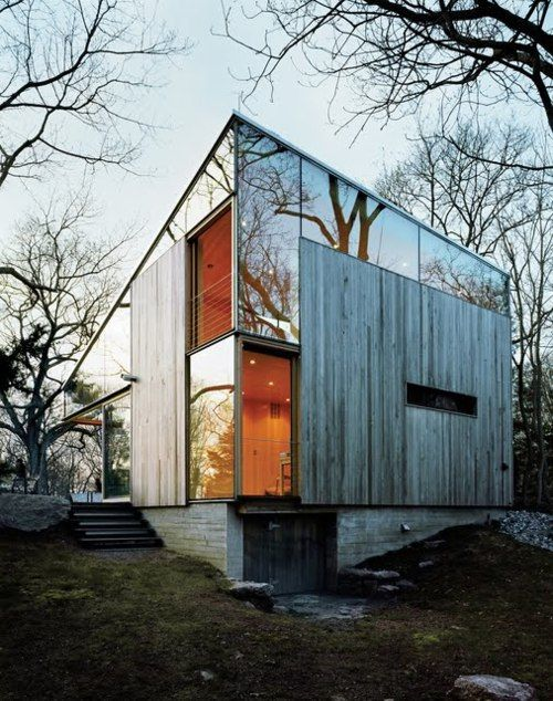 whoa. what an amazing idea to build a house that blends into its environment. The ZOMBIES would walk right on by. Lmao