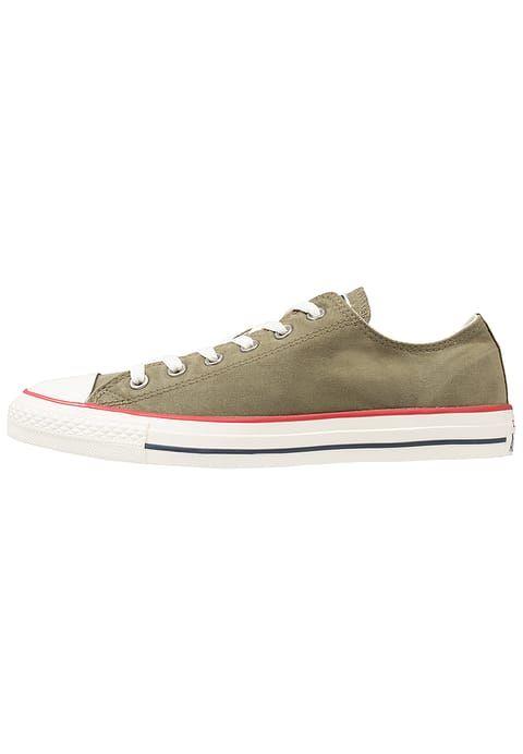 Converse CHUCK TAYLOR ALL STAR OMBRE WASH - OX - Zapatillas medium olive/garnet/egret fQs9Ra