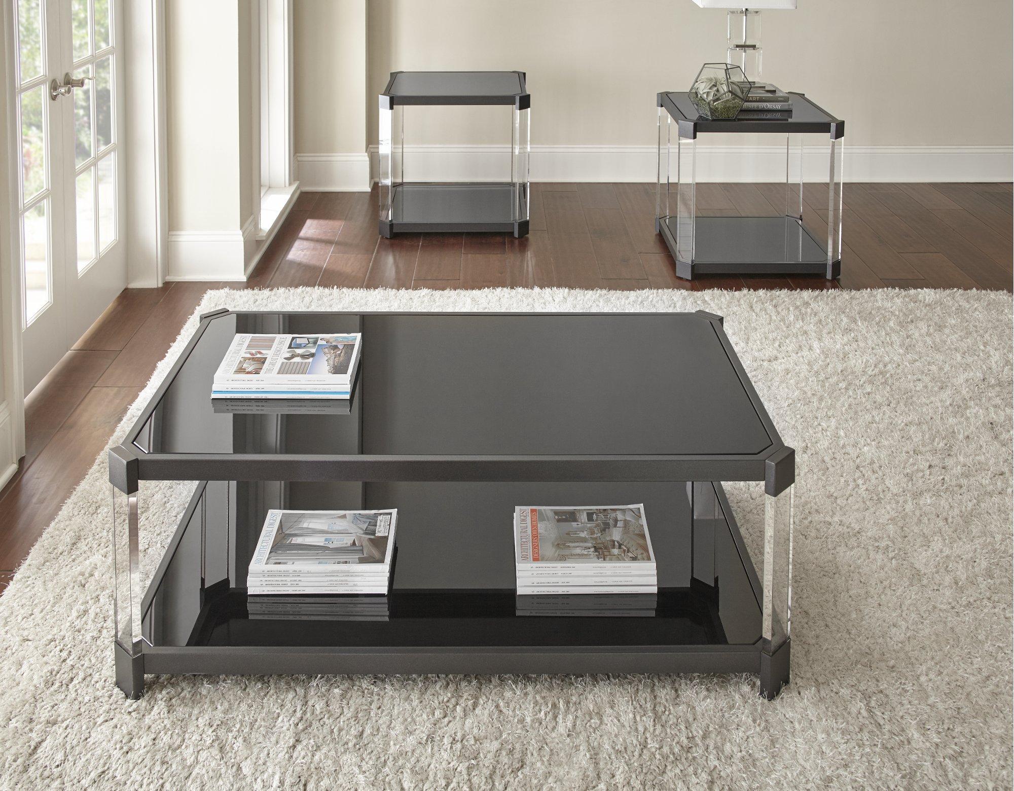 Contemporary Black Coffee Table Newton Coffee Table Black Coffee Tables Coffee Table Setting [ 1560 x 2000 Pixel ]