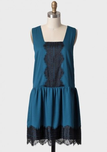 Gatsby Lace Drop Waist Dress