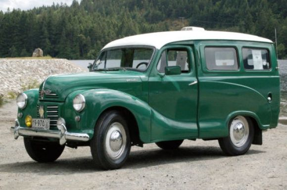 1952 Austin A40 Countryman formerly owned by the British Columbia