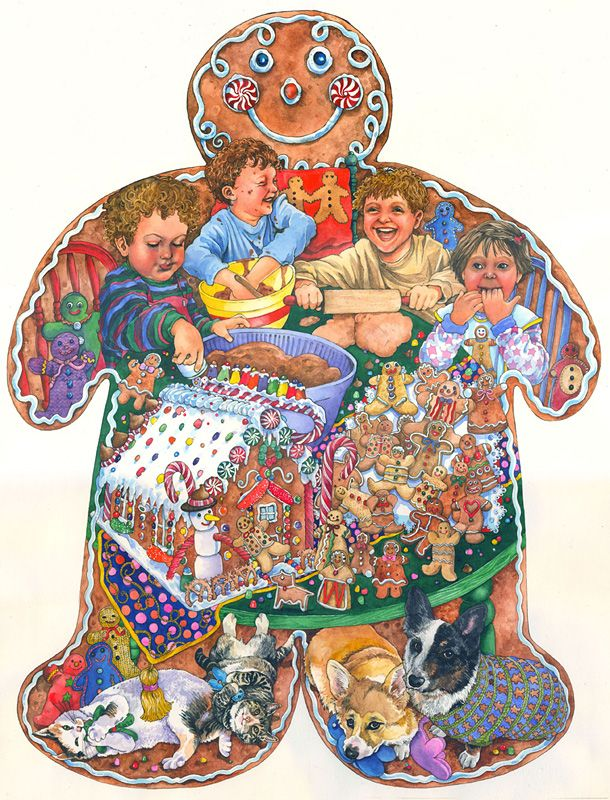 GINGERBREAD MAN BY WENDY EDELSON