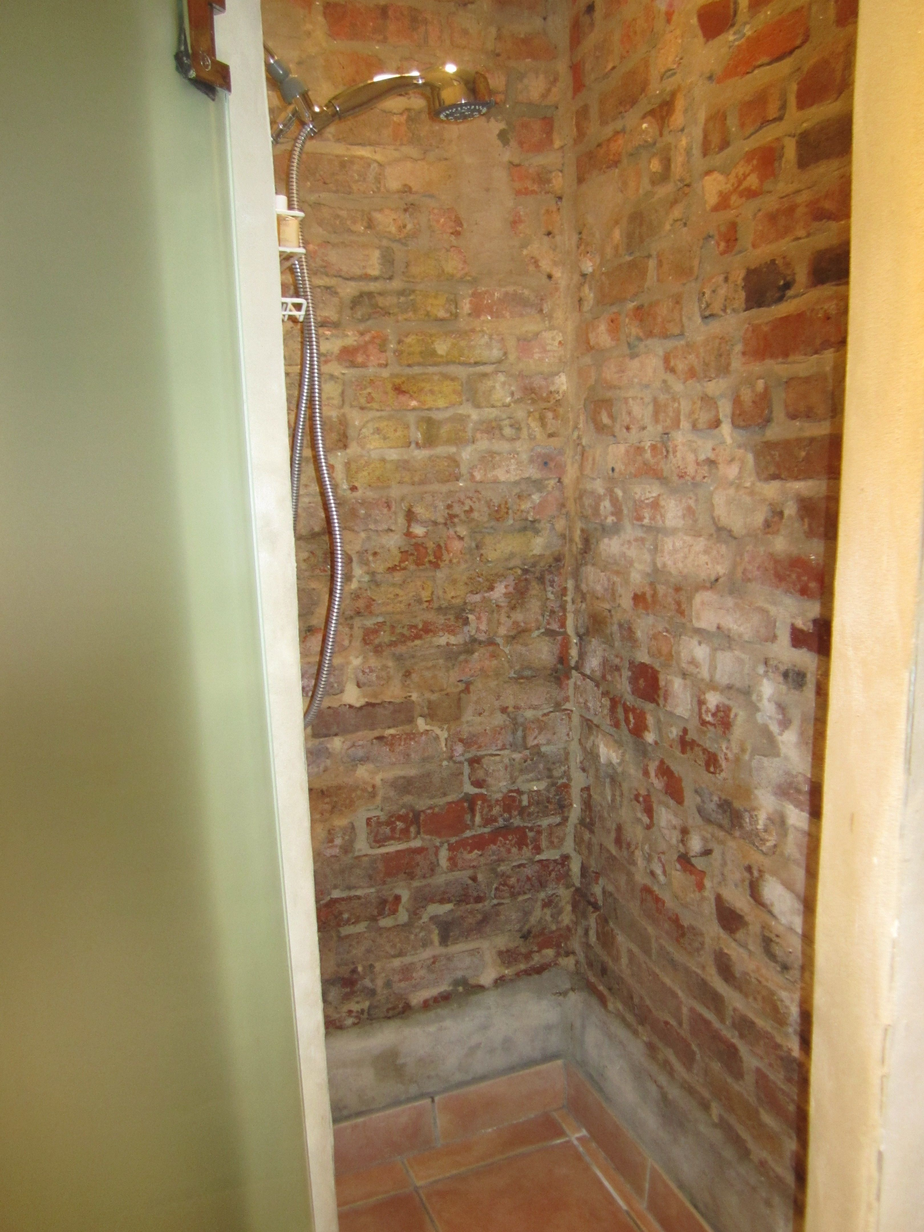 brick shower  Home Decor  Brick tile shower Brick tiles