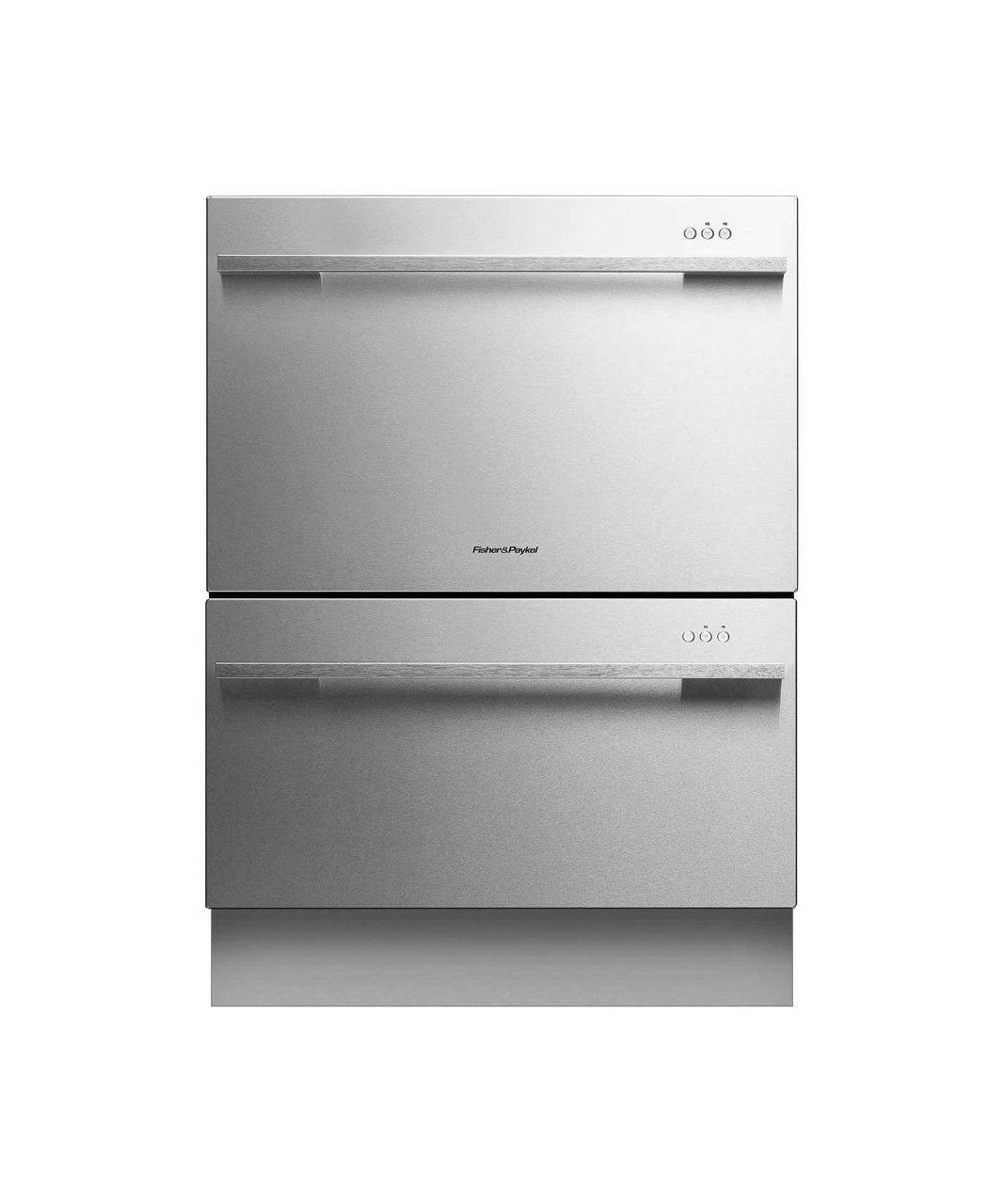kitchenaid double drawer dishwasher kudd03dtss