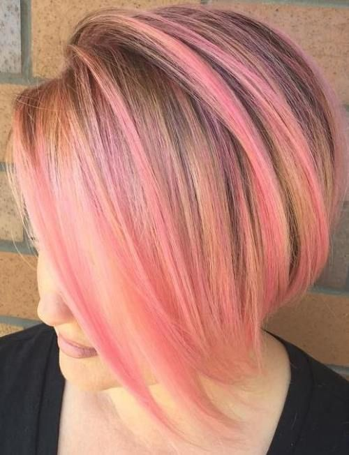 40 Pink Hairstyles As The Inspiration To Try Pink Hair Pink Hair Hair Color Pastel Pink Blonde Hair