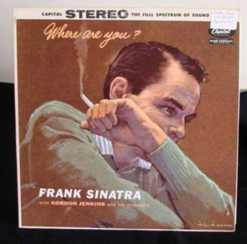 Frank Sinatra Where Are You? Lp Near Mint