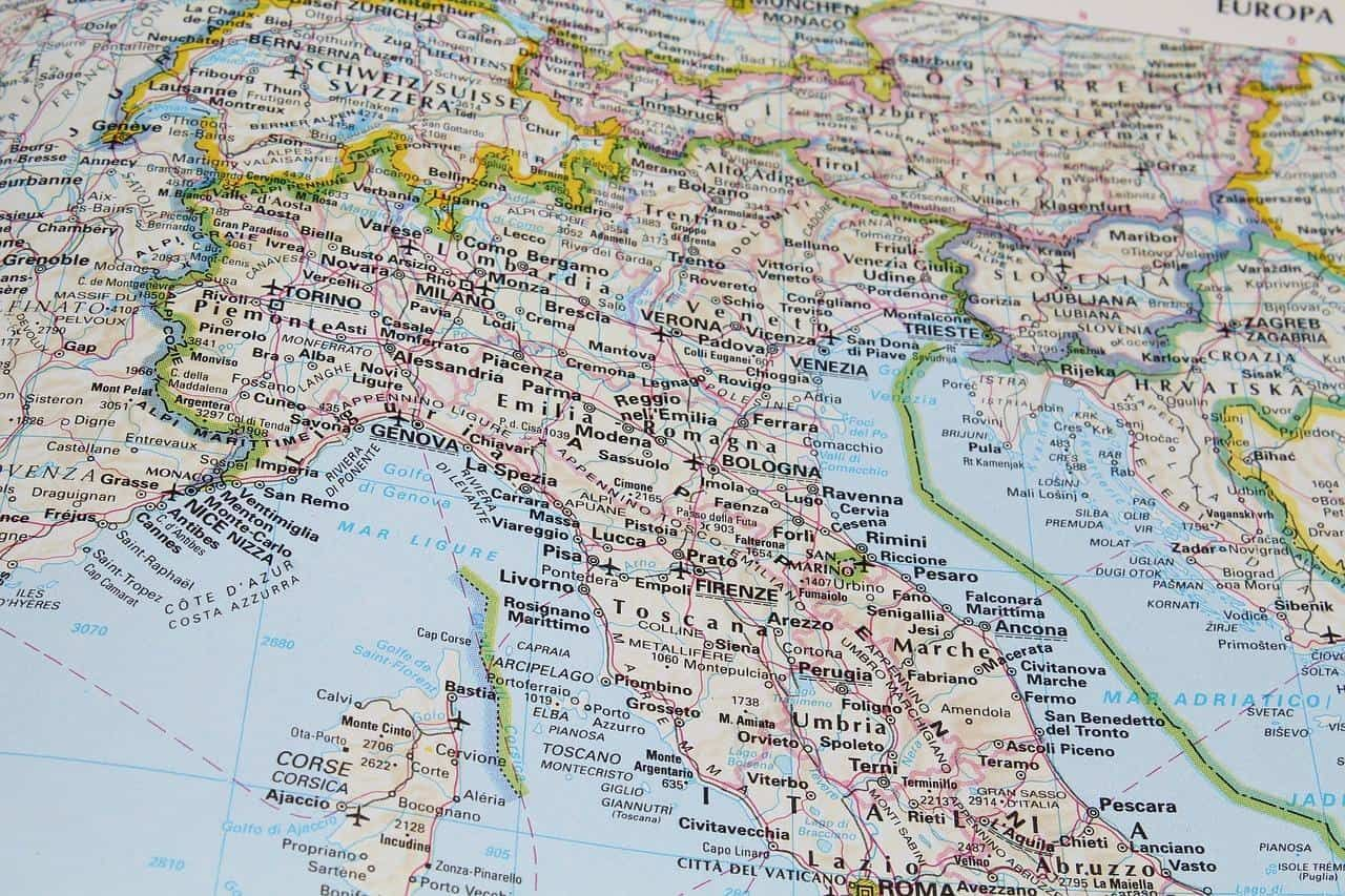 Driving Map Of Italy.Driving In Italy Tips For An Italian Road Trip Italy Map