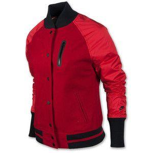 Womens Nike Wool Raglan Destroyer Sweatshirt