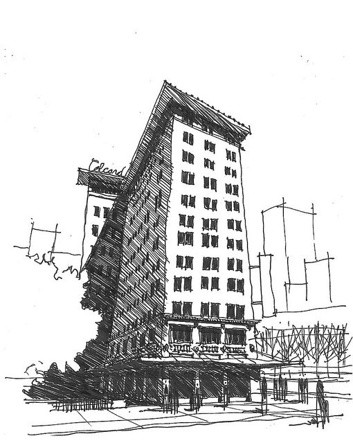 colcord building oklahoma city ok architecture sketch architecture drawing architecture illustration pinterest