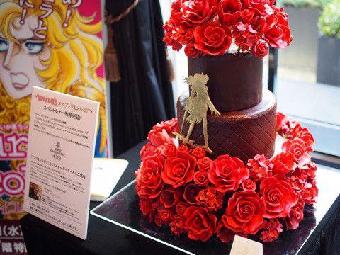 高島屋×『ベルサイユのばら』コラボ企画 オスカルをイメージしたスペシャルケーキ(参考価格38万円)
