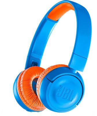 8ce5b5f79a0 JBL Kids Bluetooth On-Ear Headphones, Blue/Orange   Products ...