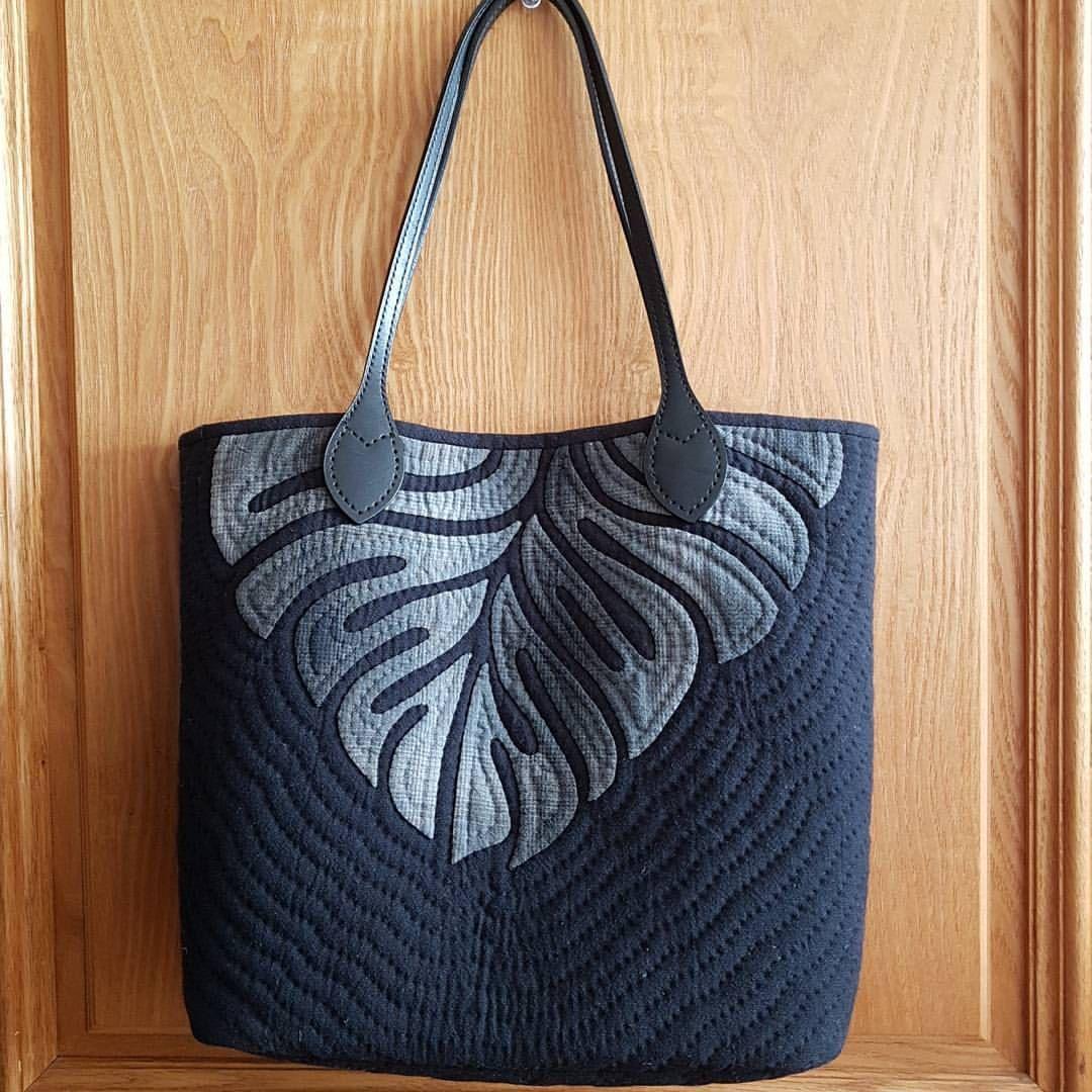Hawaiian style quilt   bag   Pinterest   Diy tasche, Nähanleitung ...