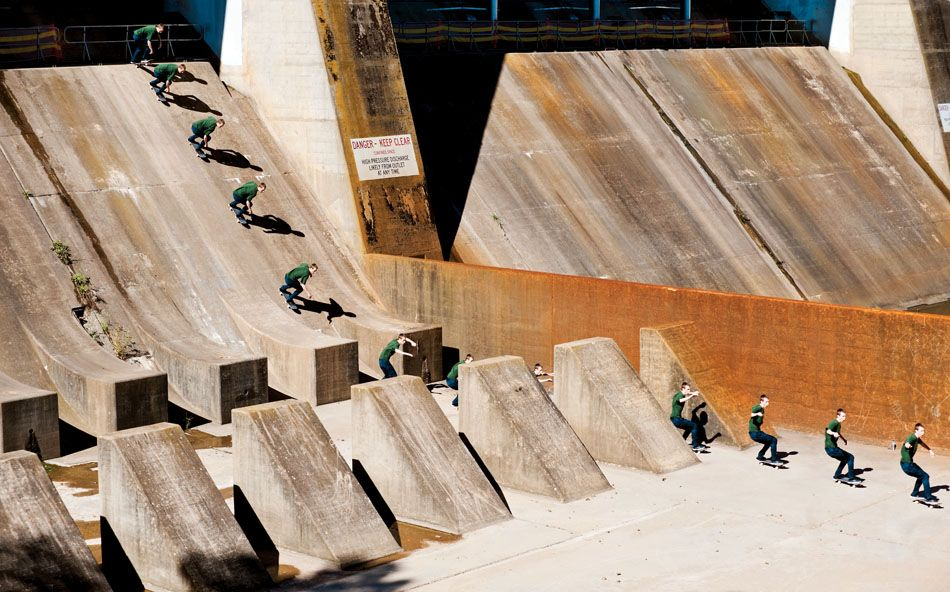 Drop in of death. Photo: O'MEALLY