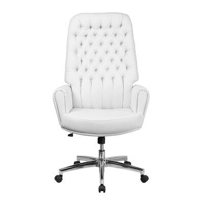 Rosdorf Park Ailani High Back Traditional Tufted Executive Chair