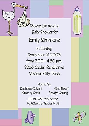 spanish baby shower invitation wording | baby shower images,