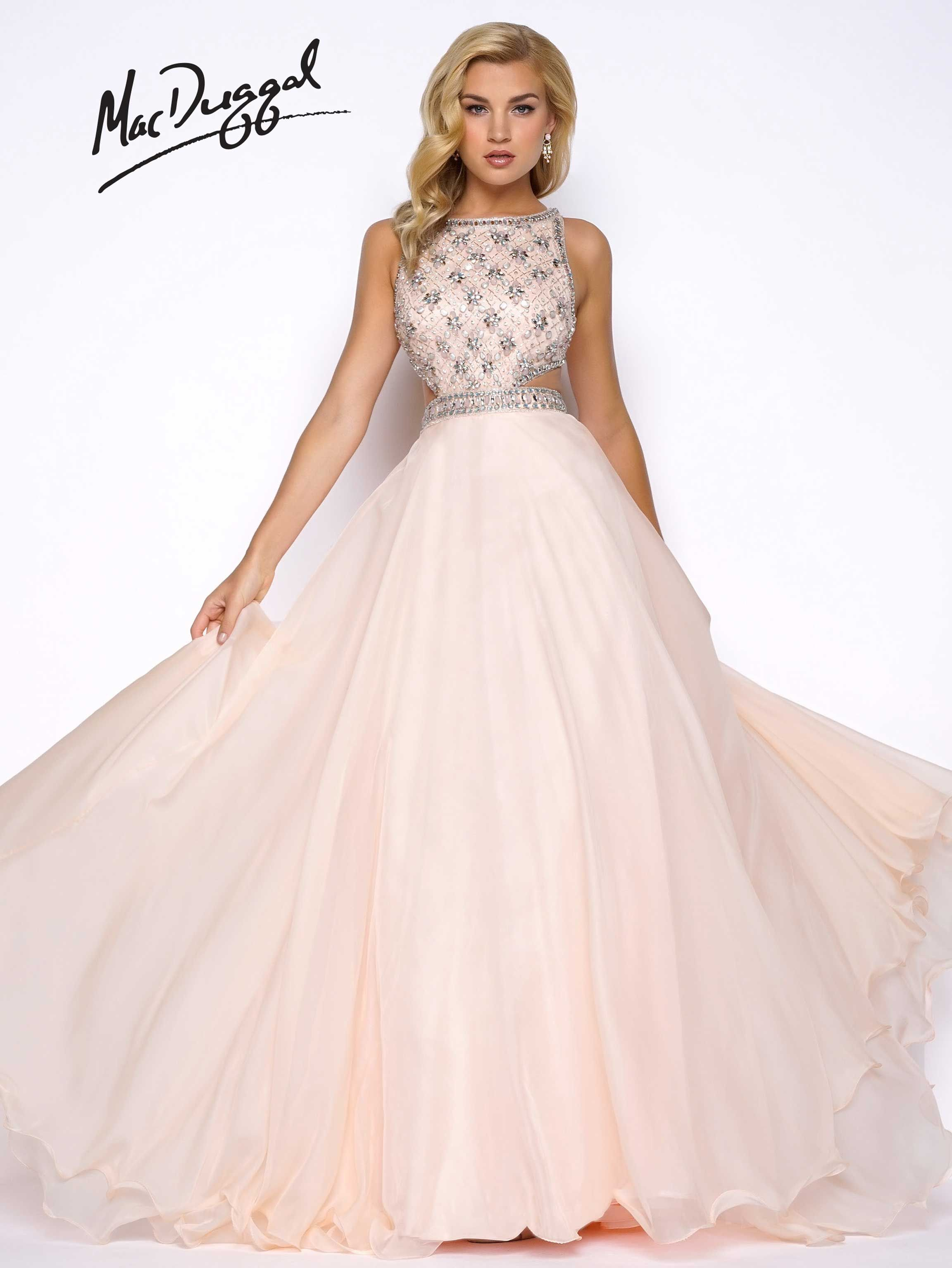 Fit and Flare Prom Gowns