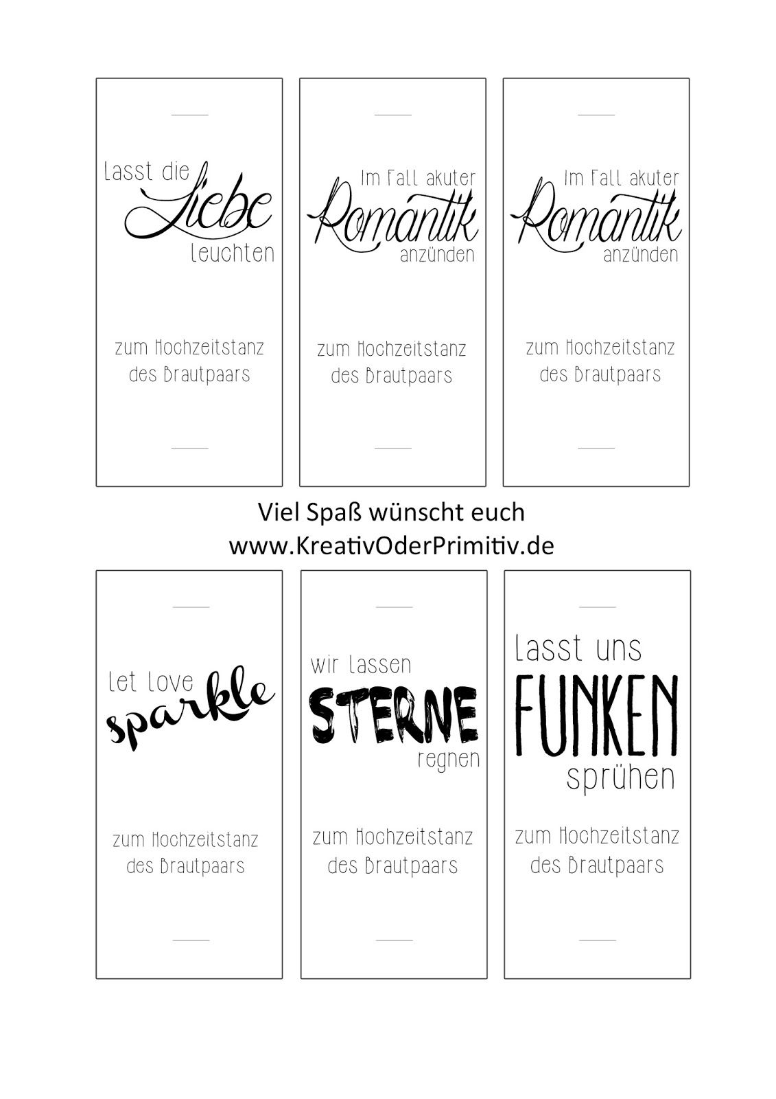 wunderkerzen hochzeit free printable download. Black Bedroom Furniture Sets. Home Design Ideas