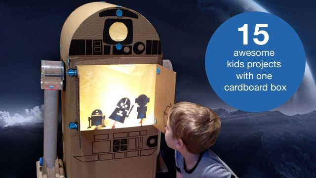 15 awesome things to do with a cardboard box