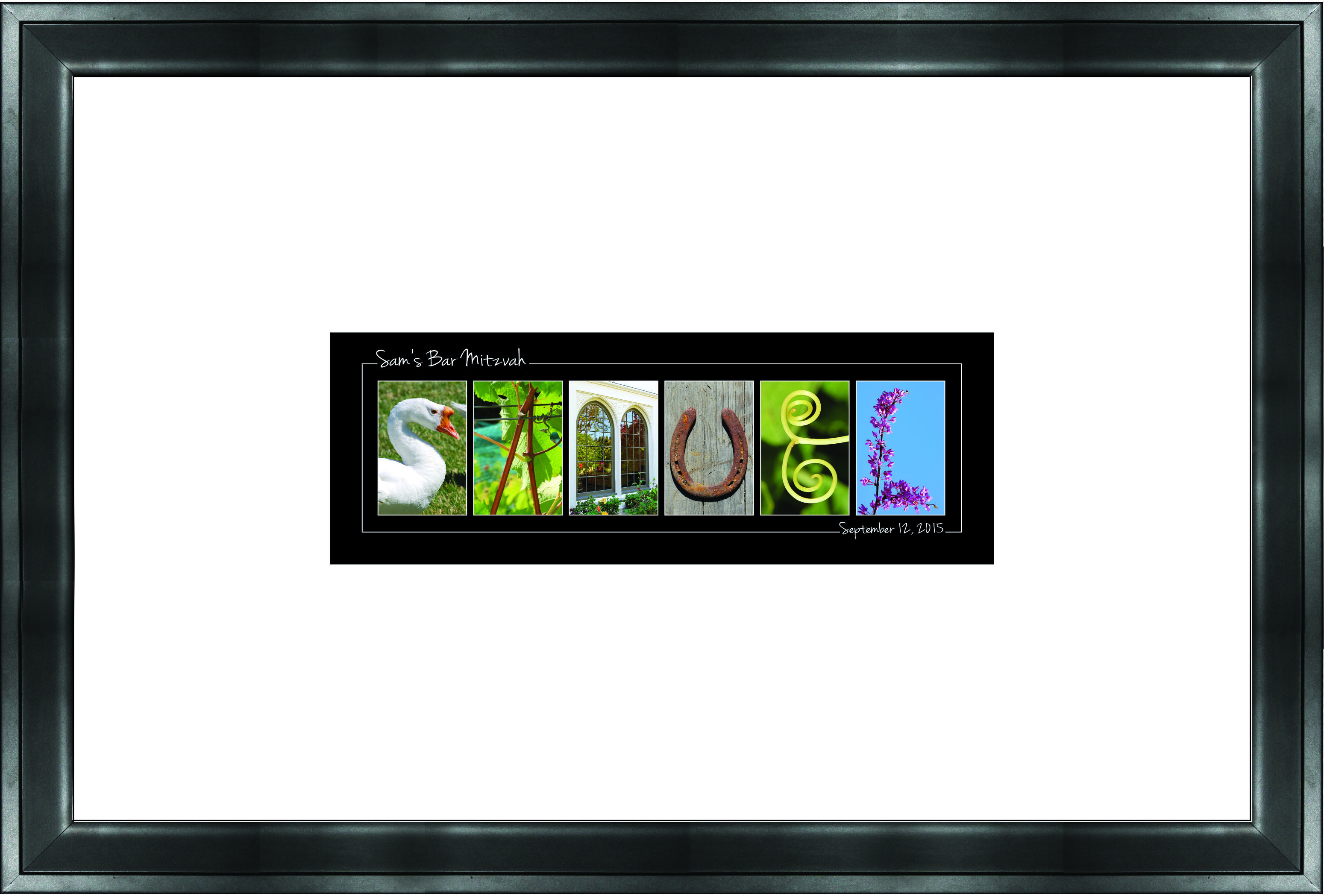 Letter Art by Spell-It-Out Photos - Guest Book Frame format | Guest ...