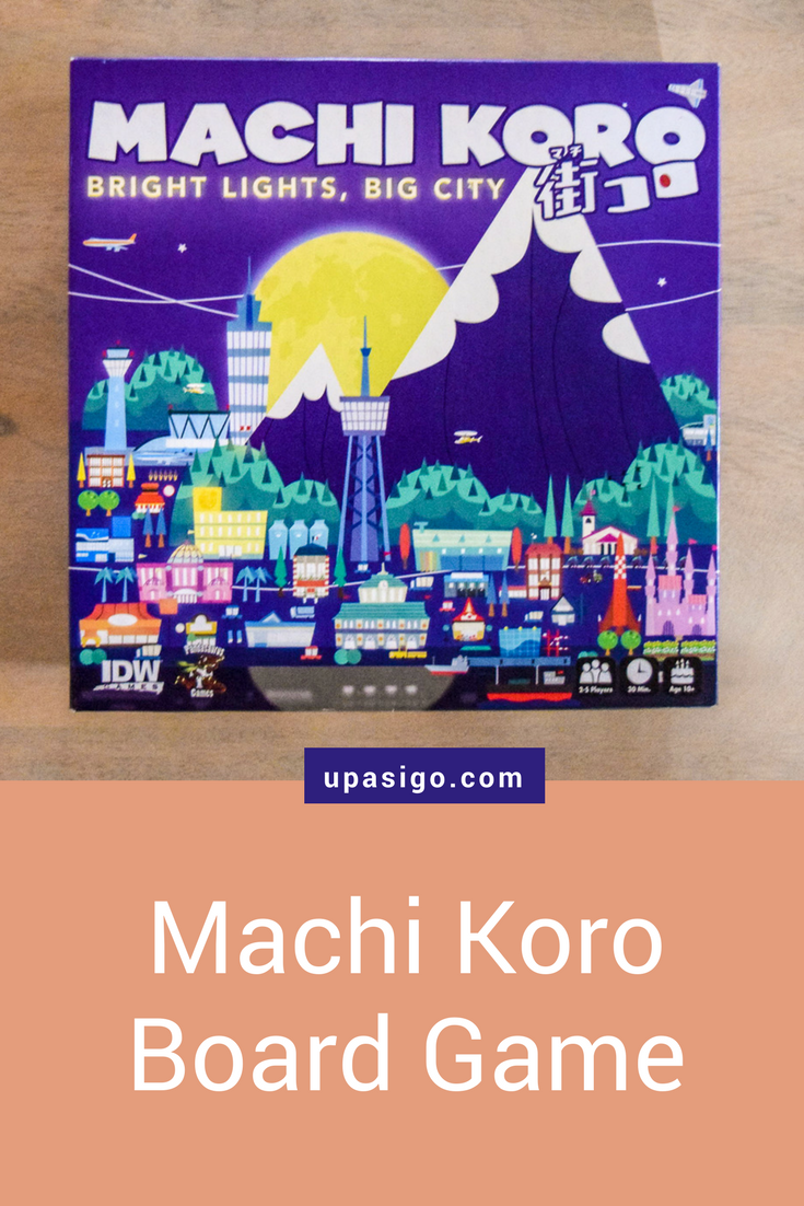 Three Reasons To Play Machi Koro Bright Lights Big City Board Game Geek Family Games Card Games