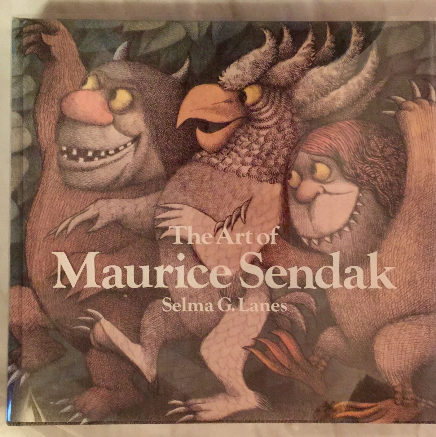 The Art of Maurice Sendak signed and dedicated first edition de EastWestLuxe en Etsy https://www.etsy.com/es/listing/235590532/the-art-of-maurice-sendak-signed-and