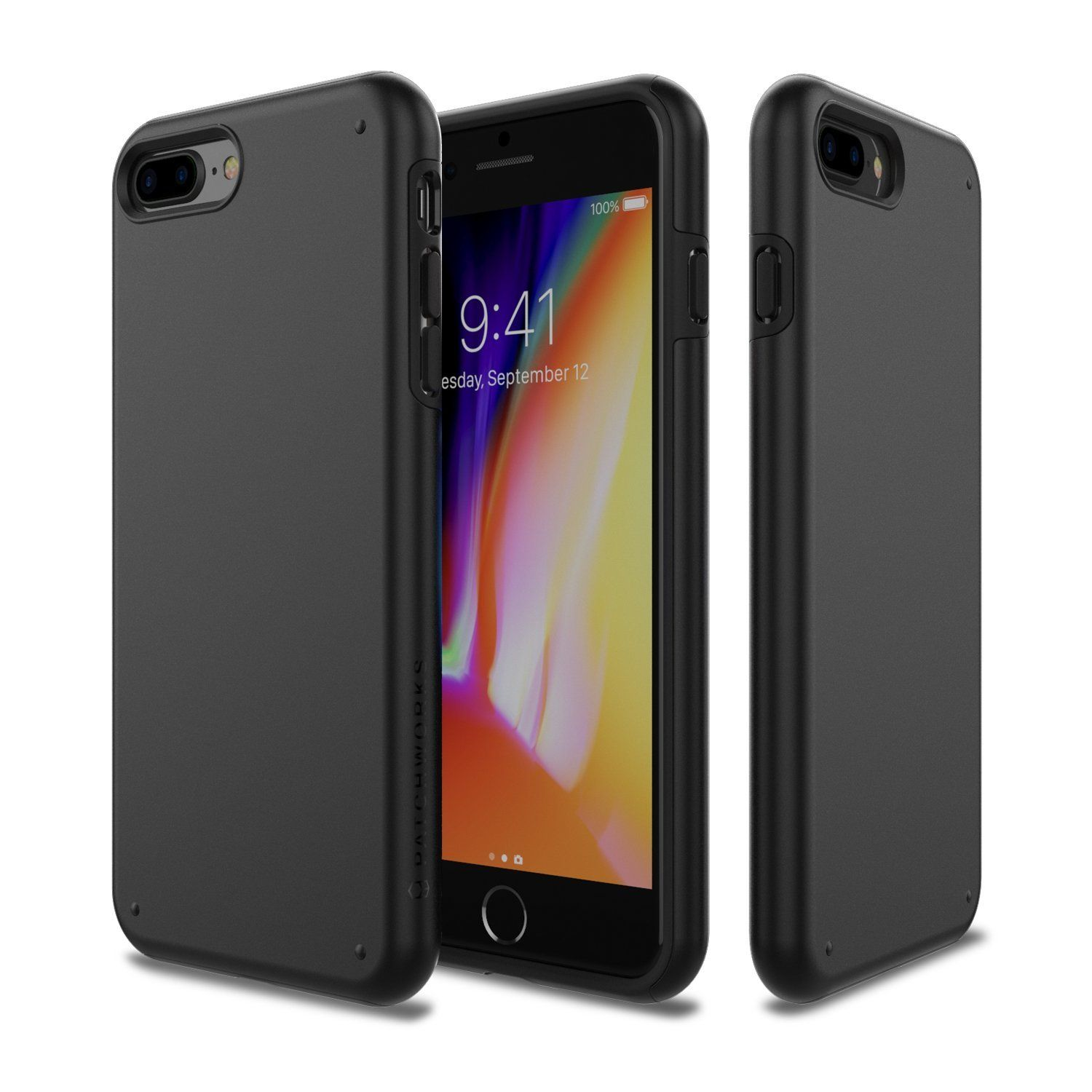 Iphone 8 Plus Case Patchworks Chroma Series Hybrid Soft Inner Tpu Hard Matte Finish Pc Back Cover Military Grade Drop Tes Iphone 7 Plus Iphone Iphone 8 Plus