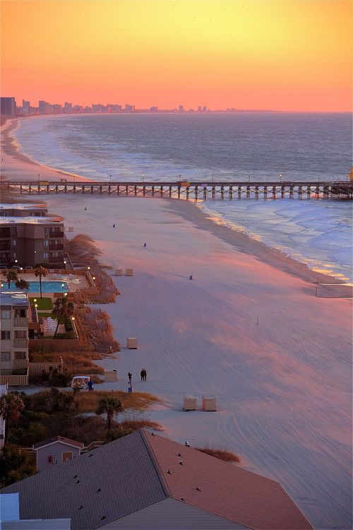 Sunrise Myrtle Beach South Carolina 6 More Weeks Thinking About This Is All That S Keeping Me Sane Ri Los Angeles Beaches Beautiful Beaches Places To Visit