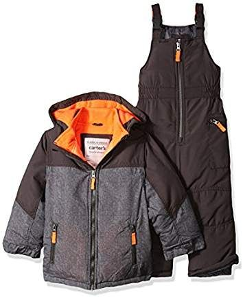 1b8edfbfbf2e Carter s Boys  Heavyweight 2-Piece Skisuit Snowsuit