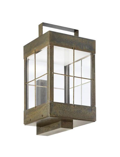 Applique Lanterne Outdoor Lamps 266 13 Lanterne Vetro Trasparente Lampade Da Parete