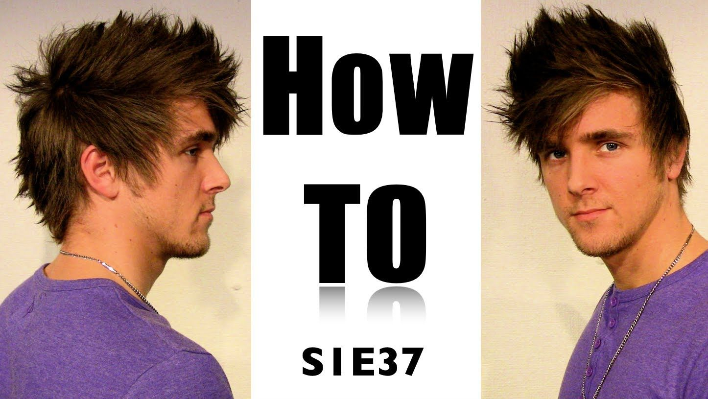 Zyzz Faux Hawk In Straight Hair How To Do Zyzz Mens Hair For Bodybuilding Slikhaar Tv 37 Straight Hairstyles Mens Hairstyles Youtube