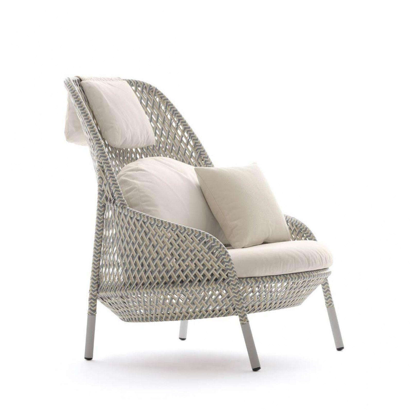 Dedon Ahnda Loungesessel Hochlehner Lounge Sessel Aussenmobe