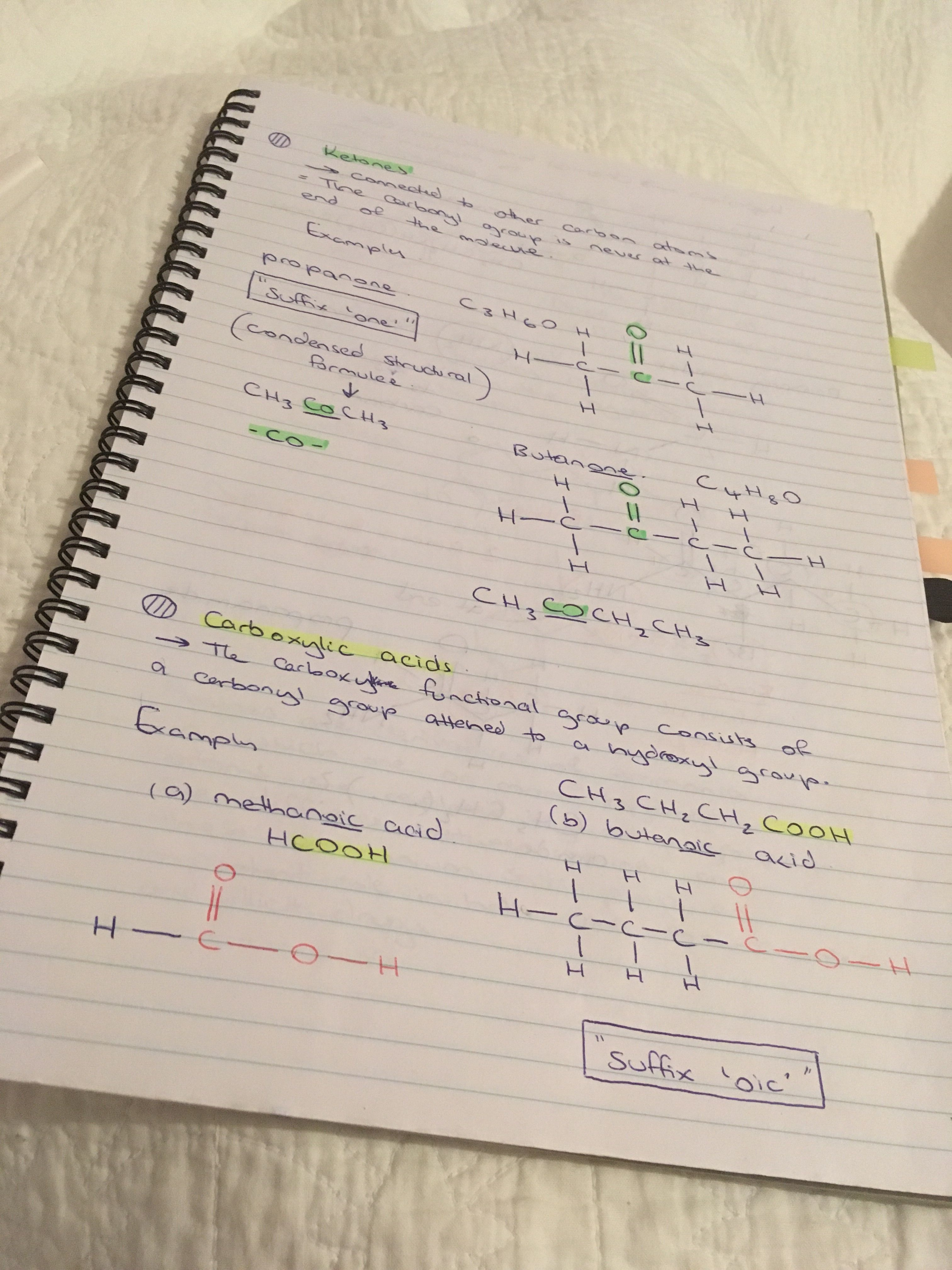Ketones + intro to carboxylic acids Pbs learning media