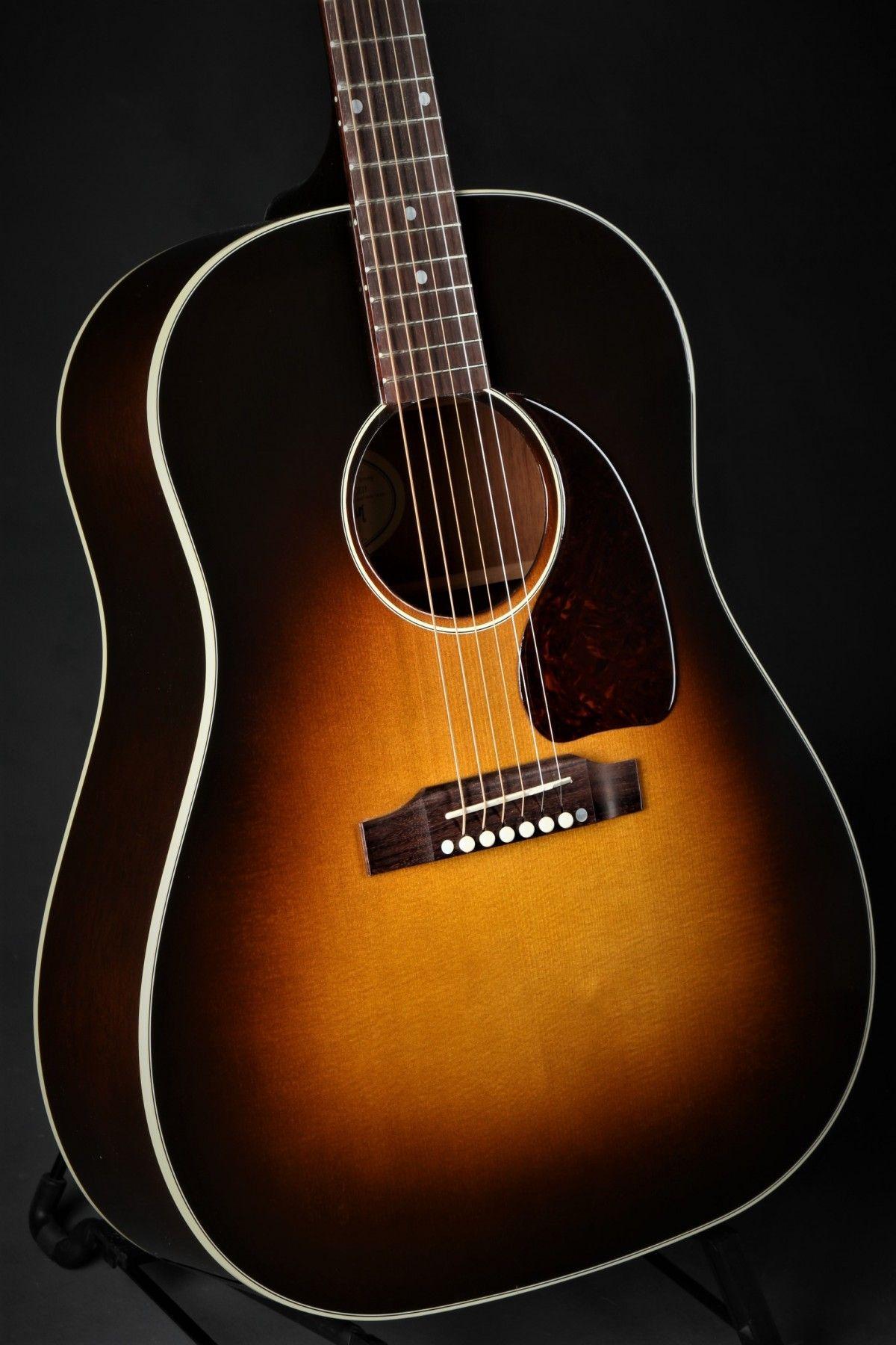 Used Gibson Montana J45 Standard 2018 Vintage Sunburst Used Acoustic Guitars Used Gear Guitar Used Acoustic Guitars Acoustic